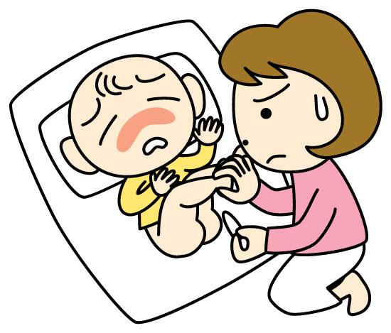 赤ちゃん 綿棒 かんちょう